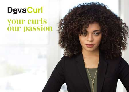 Deva Curl Hair Products sold at VooDoo Hair Lounge