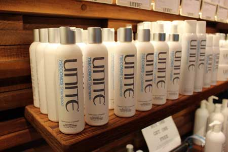 Unite Hair Products sold at VooDoo Hair Lounge